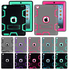 Shockproof Military Heavy Duty Rubber With Stand Case For Apple iPad Air 1st Gen