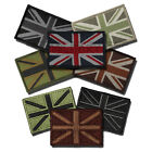 UNION JACK FLAG PATCH HOOK AND LOOP SUBDUED MILITARY UNIFORM TYPE BRITISH