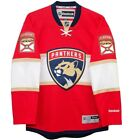 New Mens REEBOK NHL PREMIER JERSEY Red Home Florida Panthers