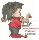 UNDERCOVER KIDS CHRISTMAS COLLECTION - MACHINE EMBROIDERY DESIGNS ON CD