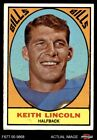 1967 Topps #15 Keith Lincoln Bills VG $3.0 USD