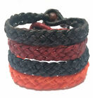 Fair Trade Waxed Cotton Buddhist Thai Wristband Classic Handcrafted Wristwear