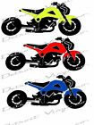 """Custom Honda Grom Lowered and Stretched Decal Sticker 7W""""x3T"""""""
