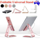 AU Universal Folding Aluminum Tablet Mount Holder Stand For iPad iPhone Samsung