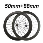 1785g 3K Matte or Glossy 50mm+88mm Clincher Standard Wheel Novatec 271/372 Hub