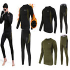 Thermal underwear sets Men Women Winter Long Johns Sweat fleece quick-dry Thermo