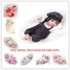 Fit for 10-11'' Reborn Baby Dolls Outfit Clothes Boy Girl Clothing Dress Replace