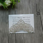 Personalized printed Luxury Wishing Well Cards,Rsvp Cards,Thank You Cards
