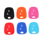 2 Buttons Silicone Shell Remote Key Fob Case Cover For DF peugeot 206 UK