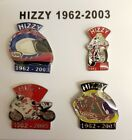 Steve Hislop Set of 4 Motorcycle Pin Badges TT Legend