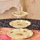 2/3 Tiers Home Party Cupcake Fittings Cake Plate Storage Stand Birthday Decor US
