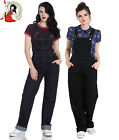 HELL BUNNY ELLY MAY ellie rockabilly 40s landgirl DENIM navy DUNGAREES