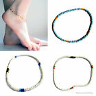 AFRICAN MASAI TRIBAL BEADED SUMMER ANKLETS, ETHNIC HOLIDAY HANDMADE JEWELLERY