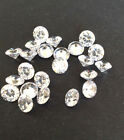 CUBIC ZIRCONIA Multi Color CZ lots 1 - 5mm Round CZ gems  -AAA-vUSA Seller
