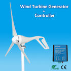 AC 12/24V 200W 3 Blades Wind Turbine Generator with Windmill Charge Controller