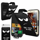 For Asus Zenfone 2 Laser ZE550KL - Adjustable Design PU Leather Flip Case