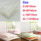 NEW LARGE VACUUM COMPRESSED STORAGE BAG BAGS SPACE SAVER SAVING CLOTHES BEDDING
