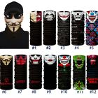 US Joker Clown Cycling Motorcycle Neck Tube Ski Scarf Face Mask Headband Gift