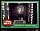 1977 Topps Star Wars #219 The swing to freedom EX $5.5 USD on eBay