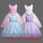 Kyпить DH Flower Girl's Floral-Embroidered Pearl Embellished Evening Dress Up 3-10 Y на еВаy.соm
