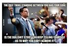 dicaprio wall street movie - The Wolf of Wall Street Movie Dicaprio Motivational Decoration Fabric POSTER 189