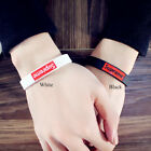 Rubber Silicone Bracelet Sport Adult Student Couple Fashion Customized Band