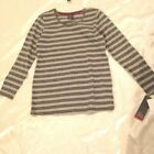 oh Baby By Motherhood: Long Sleeve Stretch Knit Pull-Over Top: M, L