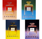 CHANEL PERFUME POSTERS: Warhol Pop Art Prints