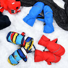 Winter Boys Girls Kids Waterproof Mittens Thickening Warm Winter Gloves US Ship