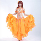 Belly Dancer Costumes Set Suit Performance Professional  Outfits Dance Club 823