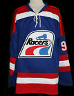 WAYNE GRETZKY INDIANAPOLIS RACERS WHA RETRO HOCKEY JERSEY SEWN NEW ANY SIZE