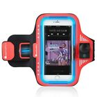 """Water Resistant LED Glow Sport Jog Armband For Apple iPhone X 8 Plus 5.5"""" Device"""