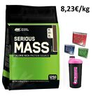 Optimum Nutrition Serious Mass - 5454g + GRATIS Bonus