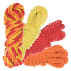 Twisted Natural Cotton Rope 40 and 100 Foot Combo Kits Super Soft Cord