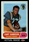 1968 Topps #36 Gary Garrison Chargers VG/EX $0.99 USD on eBay