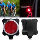 Bicycle Cycling Bike Head Front Rear Tail 3 LED light USB Rechargeable 4 mode BR