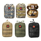 First Aid Kit Survival Tactical Emergency Military Medical Quick Pack Pouch