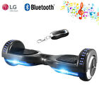 UL 6.5inch Self balancing Chrome Electric Scooter HoverBoard LED Bluetooth Smart