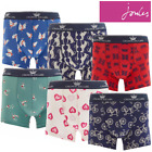Joules Crown Joules Printed Boxer Shorts (Y)