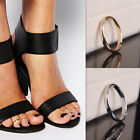 1PC Silver Gold Toe Adjustable Open Mouth Ring Metal Foot Ring Jewelry Pop