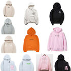 Hot Women Mens Anti Social Club ASSC Kanye Hooded Jumper Hoody Long Sleeves Lot