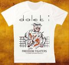 DALEK I FREEDOM FIGHTERS INDIE SYNTHPOP RETRO VINTAGE HIPSTER UNISEX TSHIRT 1764