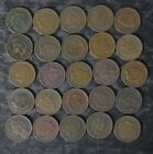 Lot:1/2 Roll (25) Indian Head Cents/Pennies  - Good or Better - No Reserve