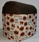 Thanksgiving Gobble Turkey Kitchenaid Stand Mixer Cover w/Pockets