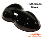 gloss black car paint - High Gloss Deep Black Gallon Single Stage Acrylic Enamel Car Auto Paint Kit