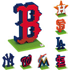 MLB Baseball 3D BRXLZ Logo Puzzle Construction Block Set - Pick Team!