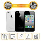 Apple iPhone 4S, 8GB, 16GB, 32GB 64GB All Colours, Unlocked, Smartphone