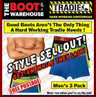 TRADIE MEN'S UNDERWEAR  -  FITTED TRUNKS  -  'DYNAMITE'  -  3 PACK