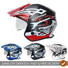Wulfsport 2018 Adults Vista Motor Bike Motorcycle Trials Helmet With Visor