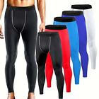 Mens Compression Pants Exercise Base Layers Workout Gym Clothes Running Tights